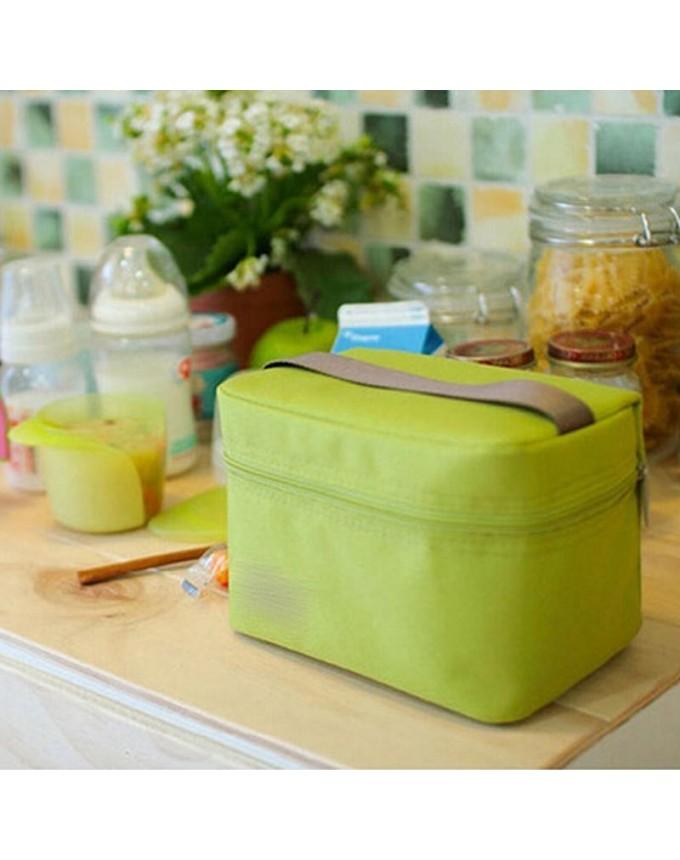 Waterproof Portable Picnic Zipper Organizer Travel Bag Oxford Cloth Lunch Bag