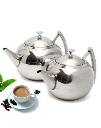 1500ML/2000ML Stainless Steel Teapot Coffee Pot
