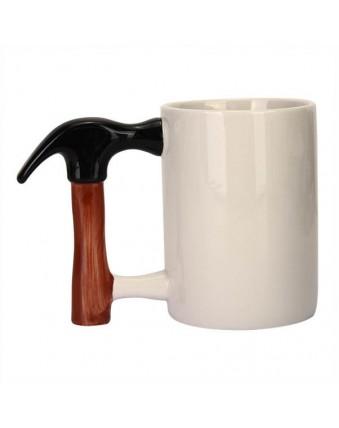 Creative Ceramic Hammer Mug Unique Hammer Design Coffee Mug Mug