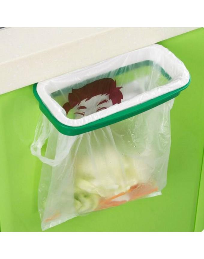 Plastic Hanging Trash Bag Organizer Kitchen Cabinet Trash Bag Organizer