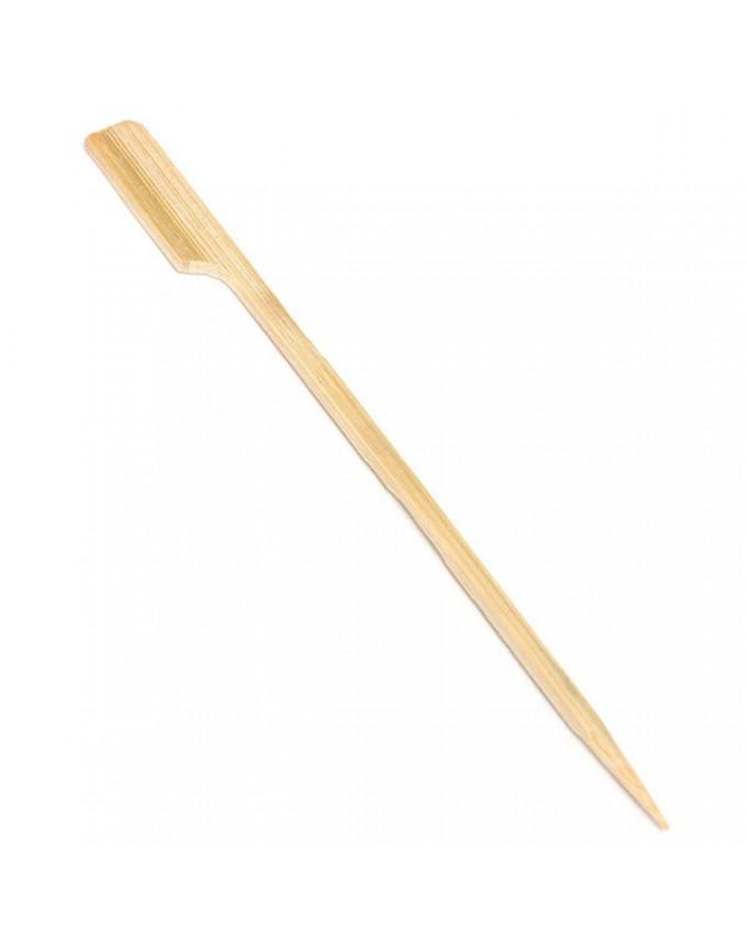 30Pcs 20cm BBQ bamboo skewers Wooden BBQ skewers Meat food skewers Barbecue Tools