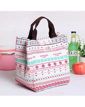 Large cotton tote bag, travel picnic bag