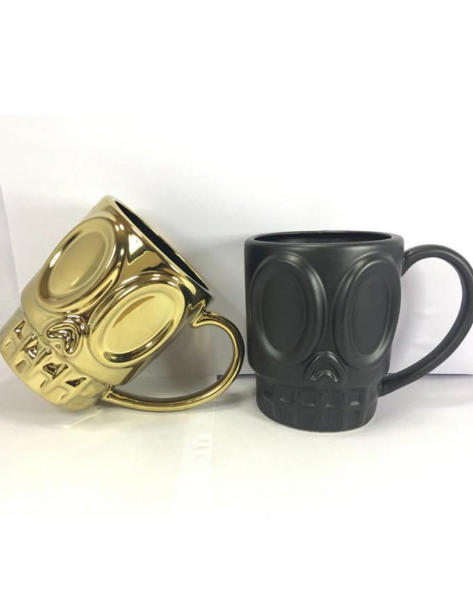 Creative smiley face milk beer coffee tea ceramic couple mug glass tumbler