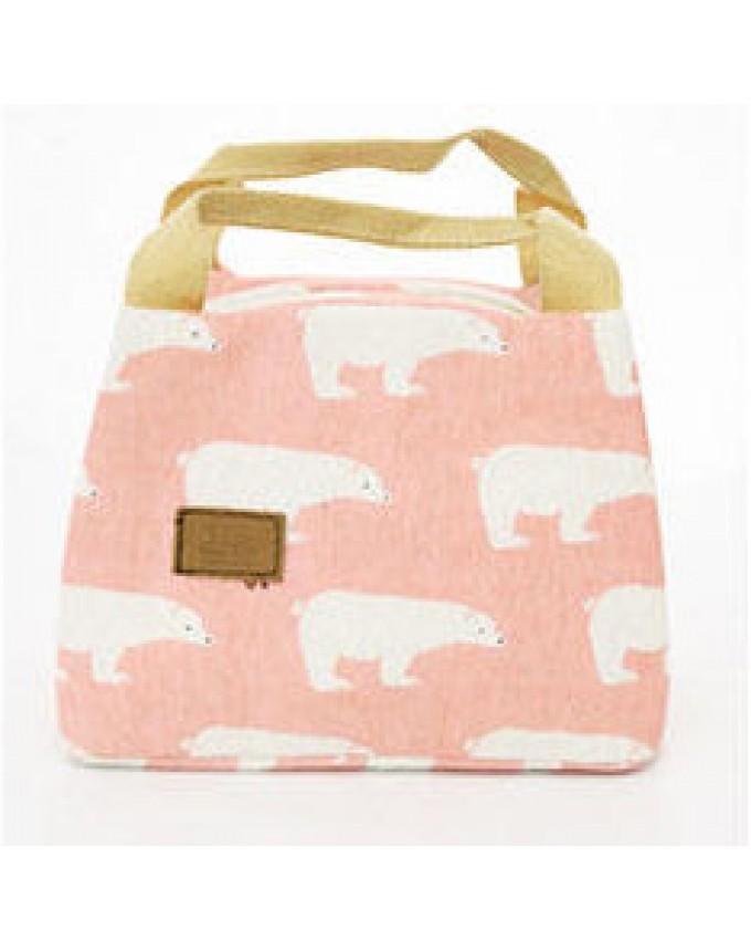 Bento bag, linen bag, lunch box, warming bag