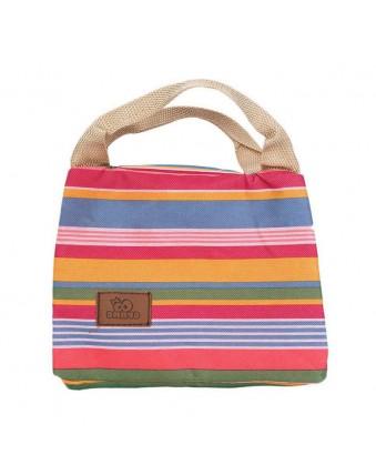 Insulated Bento Bag Cute Insulated Bento Bag Insulated Striped Picnic Bag Girls Girls Women Women Kids Food Bento Bag