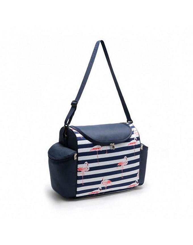 Flamingo lunch bag picnic insulated ice bag fresh bag insulated rice bag aluminum film lunch box bag high capacity lunch bag